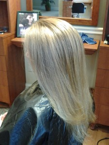 Highlights with foils